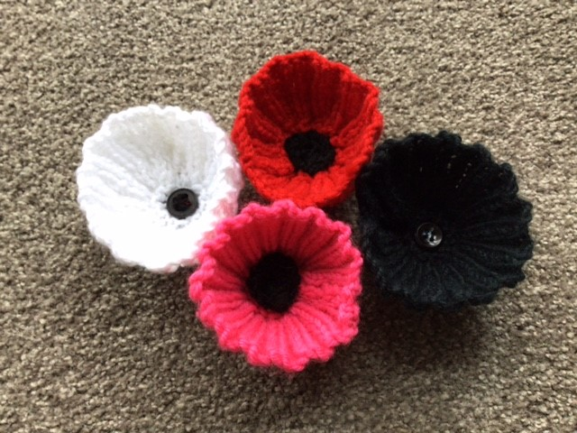 Knitted Poppies Patterns